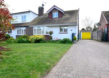 Thumbnail 2 bed semi-detached house for sale in Palmbeach Avenue, Hythe, Kent