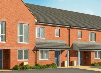 "Thumbnail 3 bed terraced house for sale in ""The Hazel"" at Connolly Way, Chichester"
