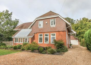 Wherwell, Andover, Hampshire SP11. 4 bed detached house for sale