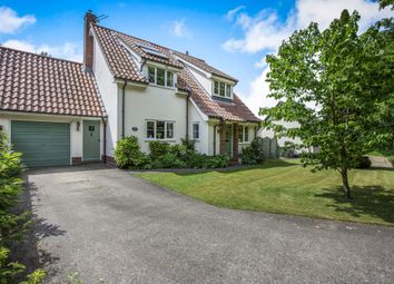 Thumbnail 3 bed detached house for sale in Green Lane, Quidenham, Norwich