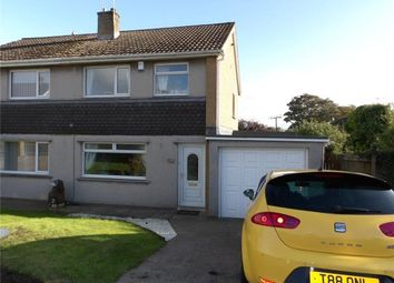 Thumbnail 3 bed semi-detached house for sale in Derwent Bank, Seaton, Workington