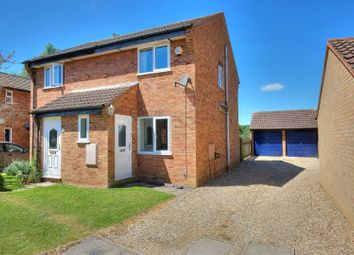 Thumbnail 2 bed semi-detached house for sale in Partridge Drive, Norwich