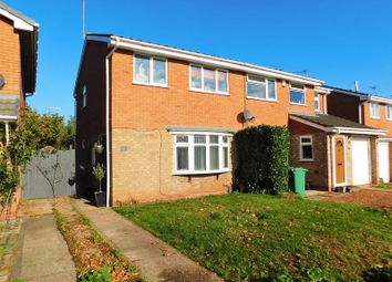 Thumbnail 3 bed semi-detached house for sale in Glenthorne Close, Wildwood, Stafford