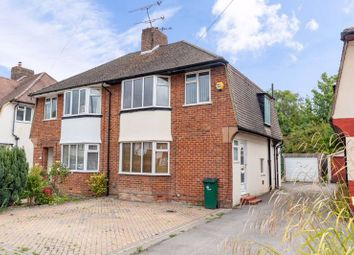 Thumbnail 3 bed semi-detached house for sale in St. Marys Drive, Pound Hill, Crawley, West Sussex