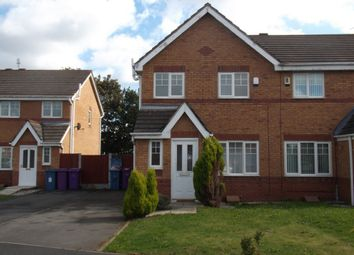 Thumbnail 3 bed terraced house to rent in Woodhurst Crescent, Liverpool