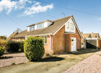 Thumbnail 3 bed bungalow for sale in Rosehill Close, Whittington, Oswestry