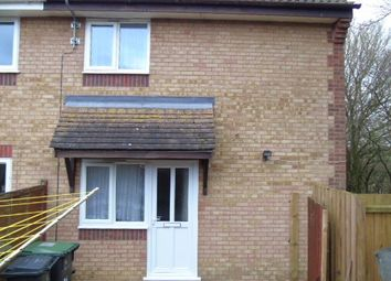 Thumbnail 1 bed terraced house to rent in Heron Close, Stowmarket