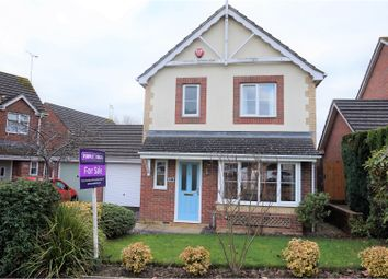 Thumbnail 3 bed detached house for sale in Foxglove Way, Yeovil