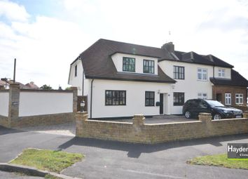 Thumbnail 4 bed semi-detached house for sale in Robinson Avenue, Goffs Oak, Waltham Cross