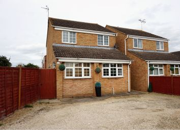 Thumbnail 3 bed detached house for sale in Cromers Close, Tewkesbury