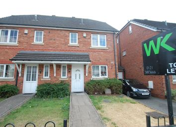 Thumbnail 4 bed semi-detached house to rent in Pound Road, Oldbury