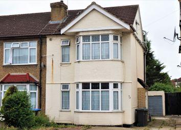 Thumbnail 4 bed semi-detached house for sale in Pembroke Avenue, Enfield