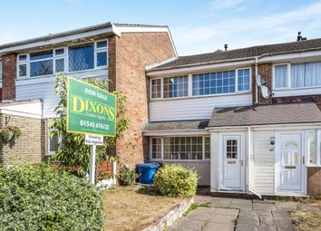 Thumbnail 3 bed terraced house for sale in Russett Close, Burntwood, Staffordshire