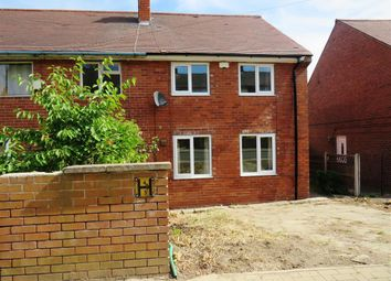 Thumbnail 3 bed property to rent in Crumwell Road, Rotherham