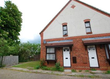 Thumbnail 1 bed end terrace house to rent in Augustus Road, Hockliffe, Leighton Buzzard