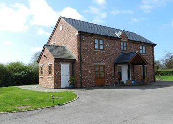 Thumbnail 3 bed detached house to rent in Sirocco, Mustard Lane, Croft, Warrington