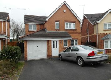 Thumbnail 4 bed detached house to rent in Mercury Way, Skelmersdale, Skelmersdale