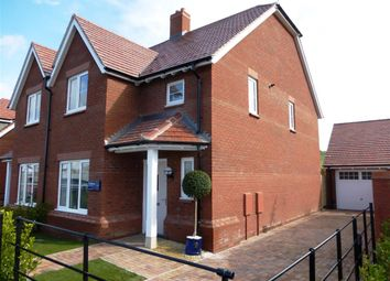 Thumbnail 3 bedroom semi-detached house for sale in William Morris Way, Blunsdon, Swindon