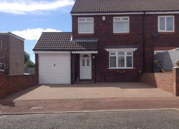Thumbnail 3 bed semi-detached house for sale in Wesley Way, Throckley, Newcastle Upon Tyne