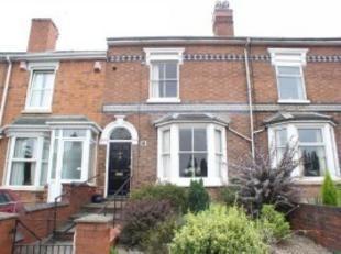 Thumbnail 4 bedroom terraced house to rent in Bromyard Road, Worcester