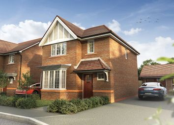 "Thumbnail 3 bed detached house for sale in ""The Heywood"" at Omega Boulevard, Warrington"