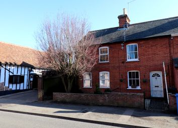 Thumbnail 2 bedroom end terrace house for sale in Angel Street, Hadleigh, Ipswich, Suffolk