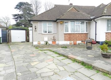 Thumbnail 2 bed semi-detached bungalow for sale in Portway, Ewell, Epsom