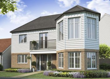 "Thumbnail 4 bed detached house for sale in ""Lincoln Iiii"" at Dymchurch Road, Hythe"