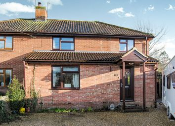 Thumbnail 4 bed semi-detached house for sale in Gedding Road, Drinkstone, Bury St. Edmunds