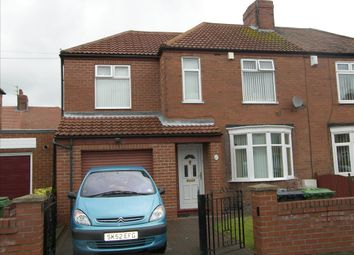 Thumbnail 4 bedroom semi-detached house for sale in Stakeford Crescent, Stakeford, Choppington