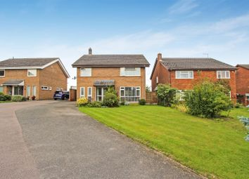 Thumbnail 4 bed detached house for sale in Hillside Close, Ellington, Huntingdon