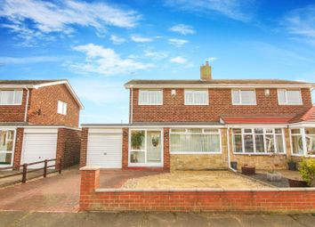 Thumbnail 3 bed semi-detached house for sale in Acomb Avenue, Seaton Delaval, Whitley Bay