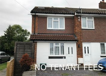 Thumbnail 3 bed semi-detached house to rent in Larkspur Way, West Ewell, Epsom