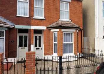 Thumbnail 2 bed end terrace house to rent in Colomb Road, Gorleston