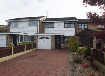 Thumbnail 3 bed town house for sale in Woodcote Close, Warrington
