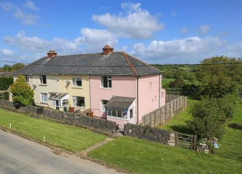 Thumbnail 2 bedroom end terrace house for sale in Cheriton Bishop, Exeter