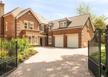 Thumbnail 6 bed detached house for sale in School Road, Windlesham, Surrey