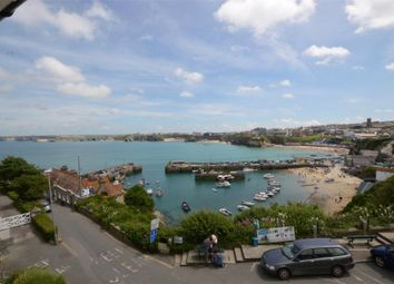 Thumbnail 2 bed flat for sale in Harbour View, North Quay Hill, Newquay, Cornwall