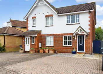 Thumbnail 2 bed semi-detached house for sale in The Carpenters, Bishop's Stortford, Hertfordshire