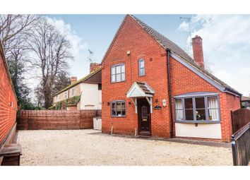 Thumbnail 3 bed detached house for sale in Church Gate, Sutton Bridge, Near Spalding
