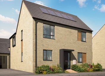 "Thumbnail 4 bed detached house for sale in ""The Deeping"" at Holden Avenue, Oxley Park, Milton Keynes"