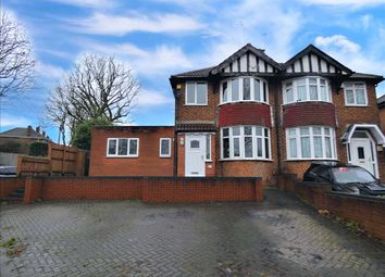 Thumbnail 4 bed semi-detached house for sale in Duncroft Road, Yardley, Birmingham