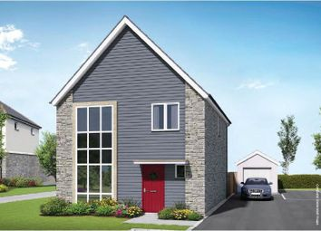 Thumbnail 4 bed detached house for sale in Hidderley Park, Camborne, Cornwall