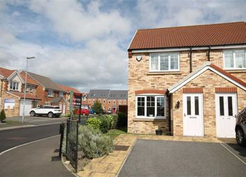 Thumbnail 2 bed semi-detached house for sale in High Road, Stanley, Crook, County Durham