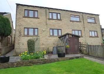 Thumbnail 3 bed semi-detached house for sale in Banks Road, Linthwaite, Huddersfield