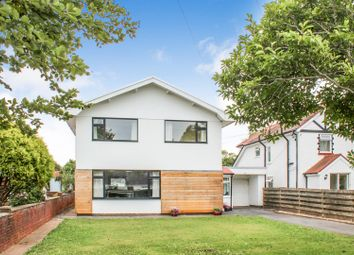 Thumbnail 4 bedroom detached house for sale in Easterfield Drive, Southgate, Swansea, West Glamorgan.