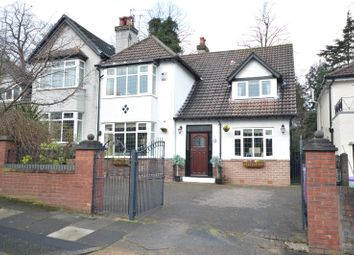 Thumbnail 4 bed semi-detached house for sale in Hollytree Road, Woolton, Liverpool