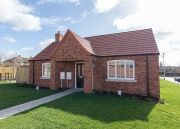 Thumbnail 2 bedroom terraced bungalow for sale in Paddock View, Saxilby, Lincoln