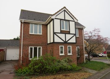 Thumbnail 3 bed detached house for sale in Thirlmere, Hethersett, Norwich