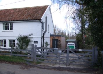 Thumbnail 3 bed end terrace house for sale in Rectory Road, Middleton, Saxmundham